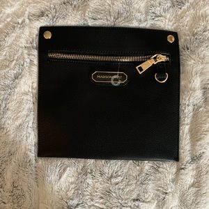 Madison West Black and Gold  Zipper Bag